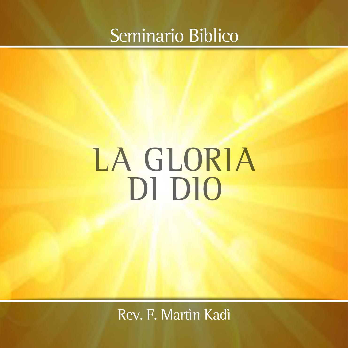 Resultado de imagem para la gloria di dio